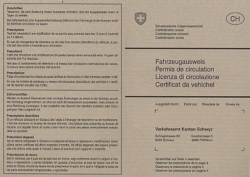 PKW verkaufen ohne Fahrzeugausweis