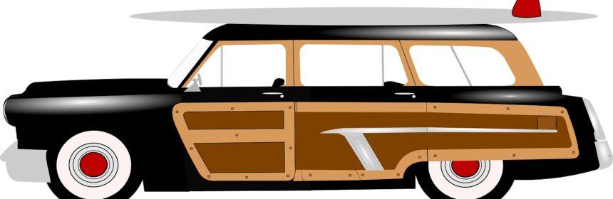 Auto aus Holz